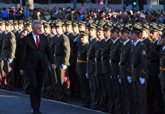 Beograd 8.9.2012. g. - Svečana promocija nove klase potporučnika Vojske Srbije.