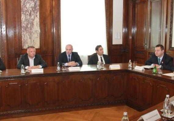 Beograd 14.8.2013. god. Sastanak državnog vrha sa predstavnicima Srba sa KiM.
