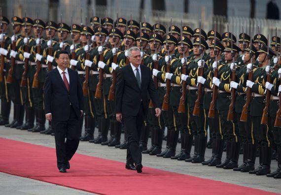 Кина 26.8.2013. год. Председник Николић у званичној посети Народној Републици Кини.