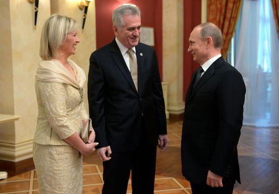 Сочи, 7.2.2014. год. Сусрет председника Николића са председником Руске Федерације Владимиром Путином.
