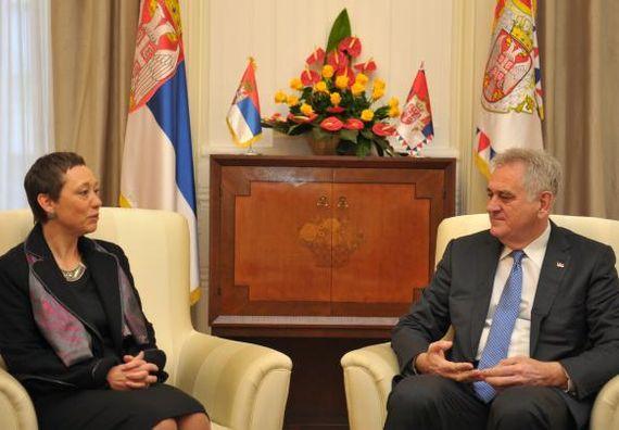 Београд, 20.11.2013. год, Председник Николић примио је у опроштајну посету амбасадора Чешке Републике.