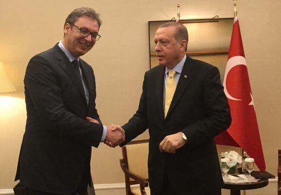 Predsednik Vučić sa predsednikom Turske Redžepom Tajipom Erdoganom