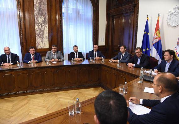 Састанак са представницима српског народа на Косову и Метохији