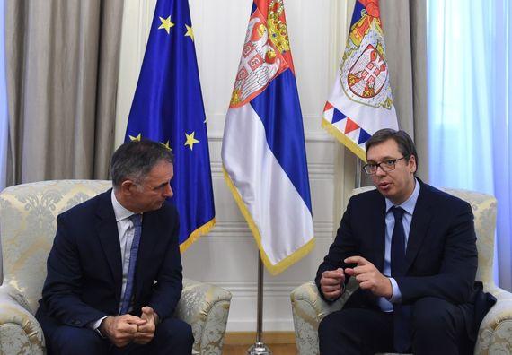 Састанак са председником Српског националног већа у Хрватској Милорадом Пуповцем