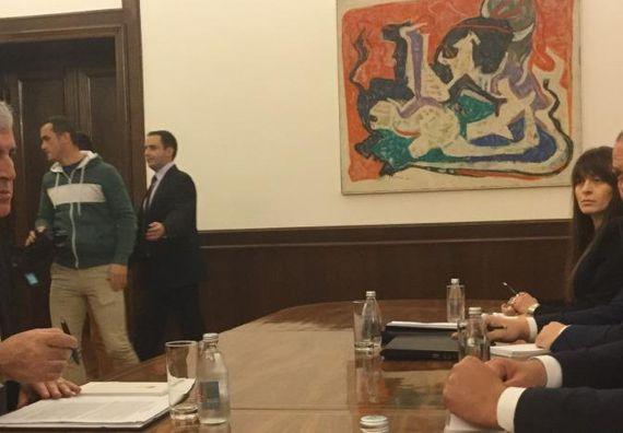 Састанак са председавајућим Председништвом Босне и Херцеговине Драганом Човићем