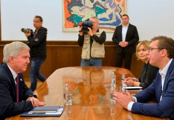 Sastanak sa ambasadorom Sjedinjenih Američkih Država Kajlom Skotom
