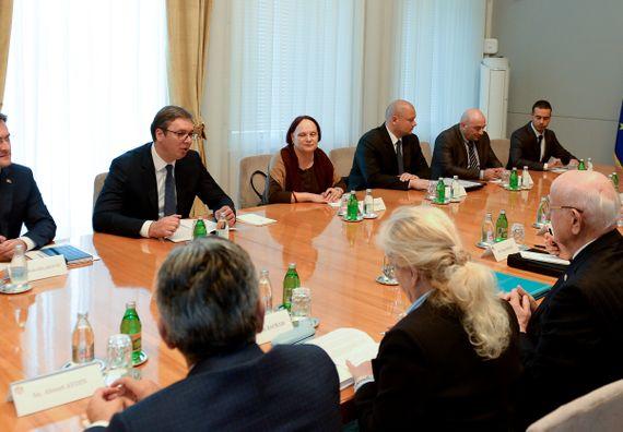 Sastanak sa predsednikom Velike narodne skupštine Republike Turske Ismailom Kahramanom, Foto Tanjug, Tanja Valić