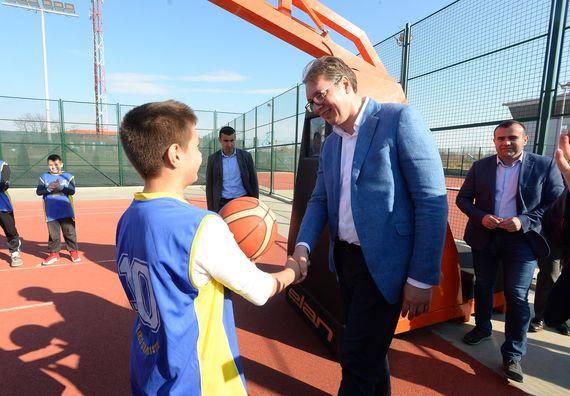 Predsednik Vučić u poseti Braničevskom okrugu