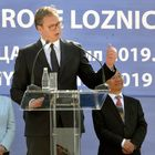 """Predsednik Vučić na ceremoniji polaganja kamena temeljca za fabriku kompanije """"MINTH"""""""