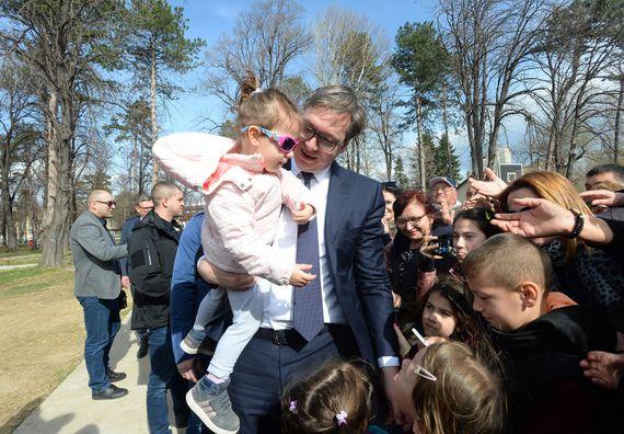 Poseta predsednika Vučića Borskom okrugu