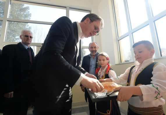 Председник Вучић у обиласку Јабланичког округа