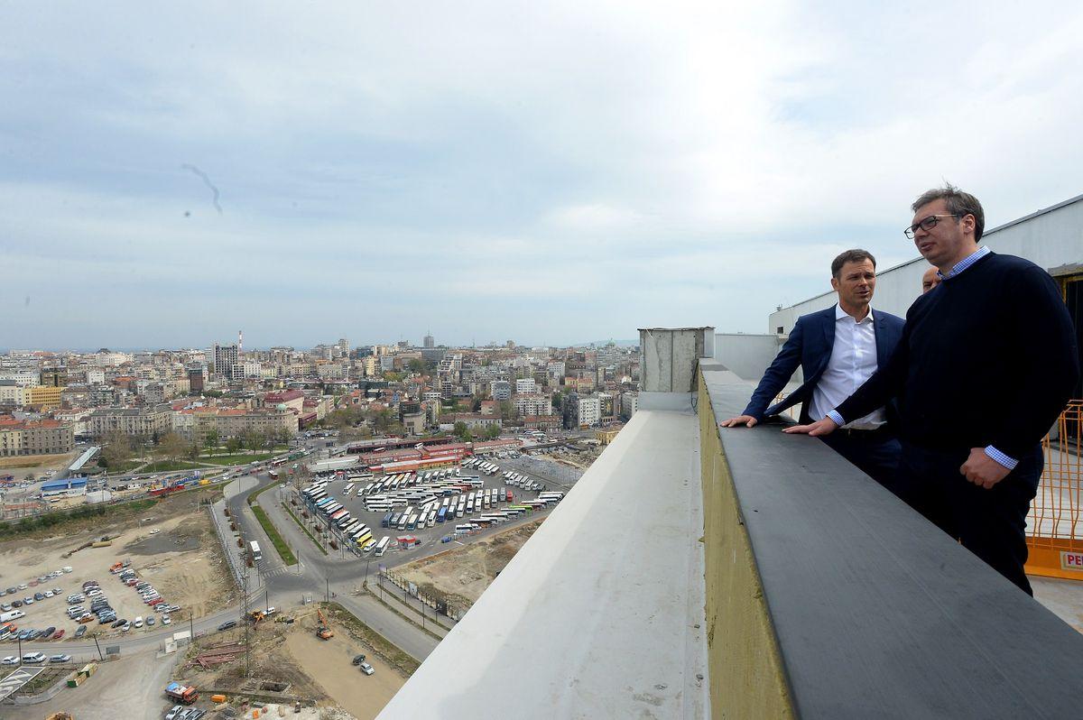 Председник Вучић обишао радове на пројекту