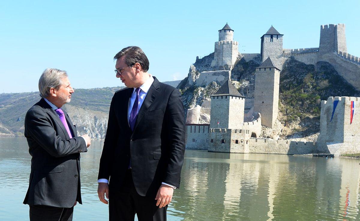 Председник Вучић на свечаном отварању тврђаве Голубачки град