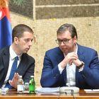 Predsednik Vučić sa političkim predstavnicima Srba sa Kosova i Metohije