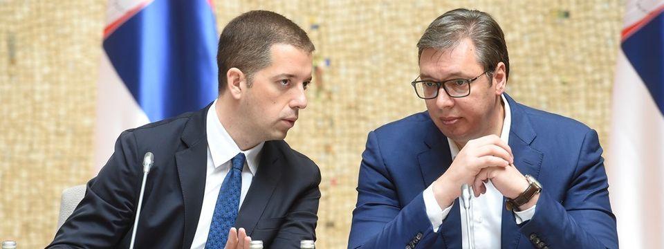 Председник Вучић са политичким представницима Срба са Косова и Метохије