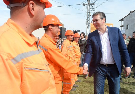 Председник Вучић у посети Сремском округу