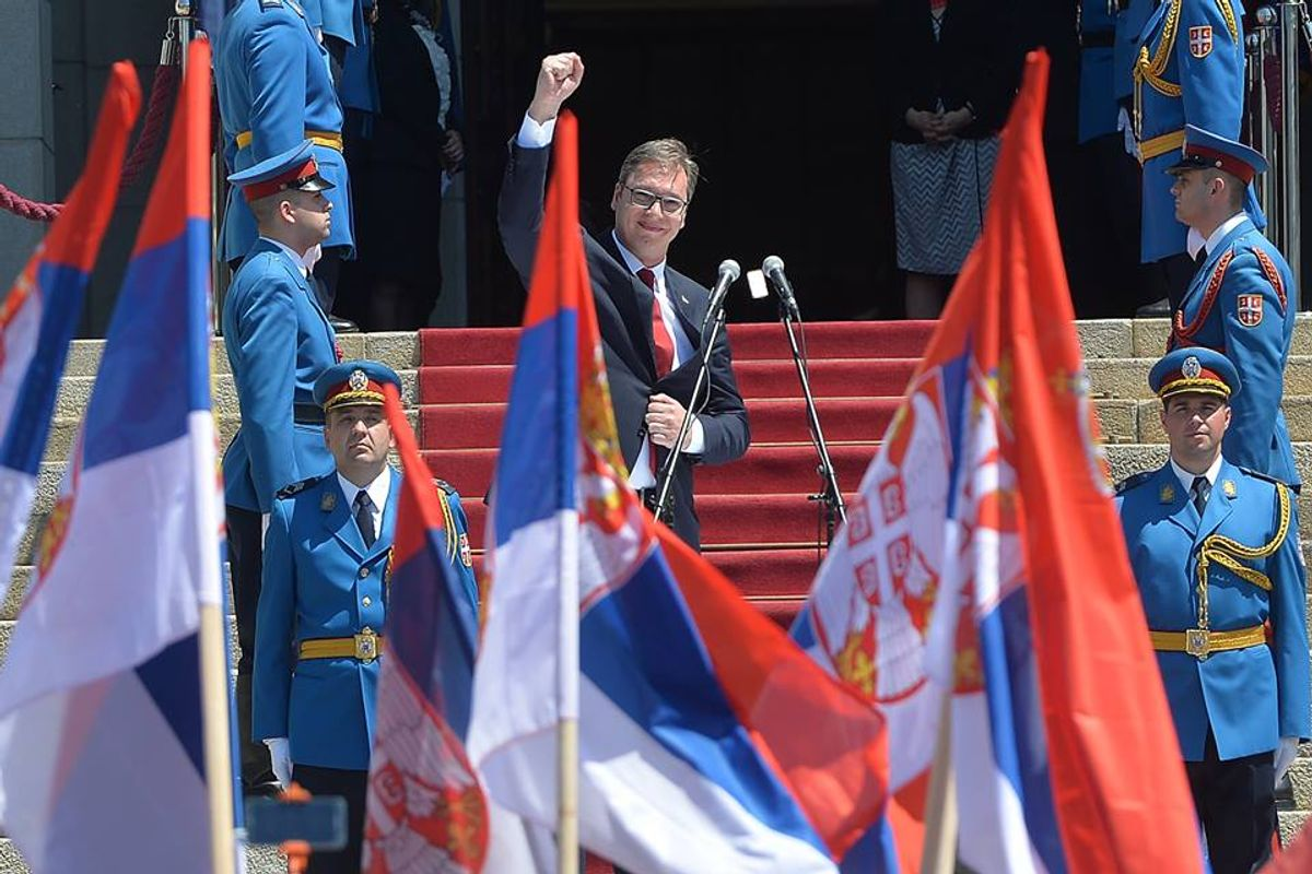 Aleksandar Vučić sworn-in as new President of the Republic of Serbia