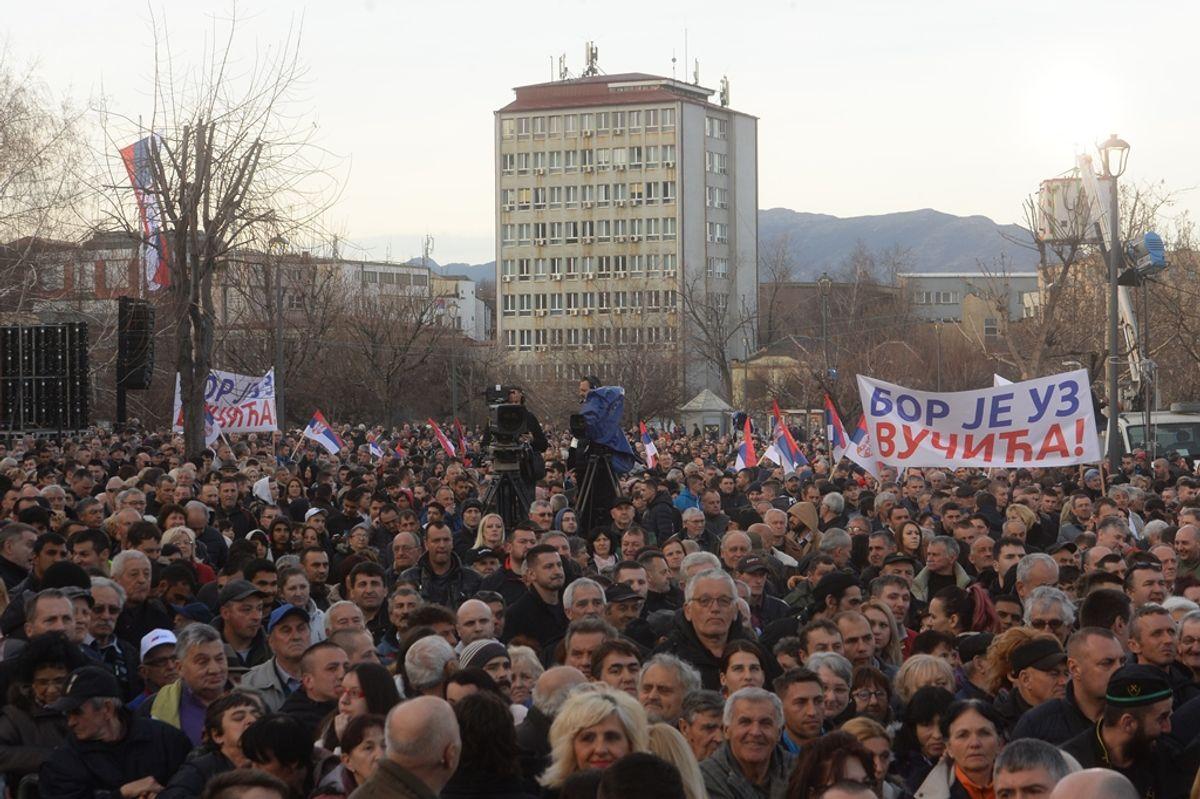 Predsednik Vučić obišao Borski okrug u okviru kampanje