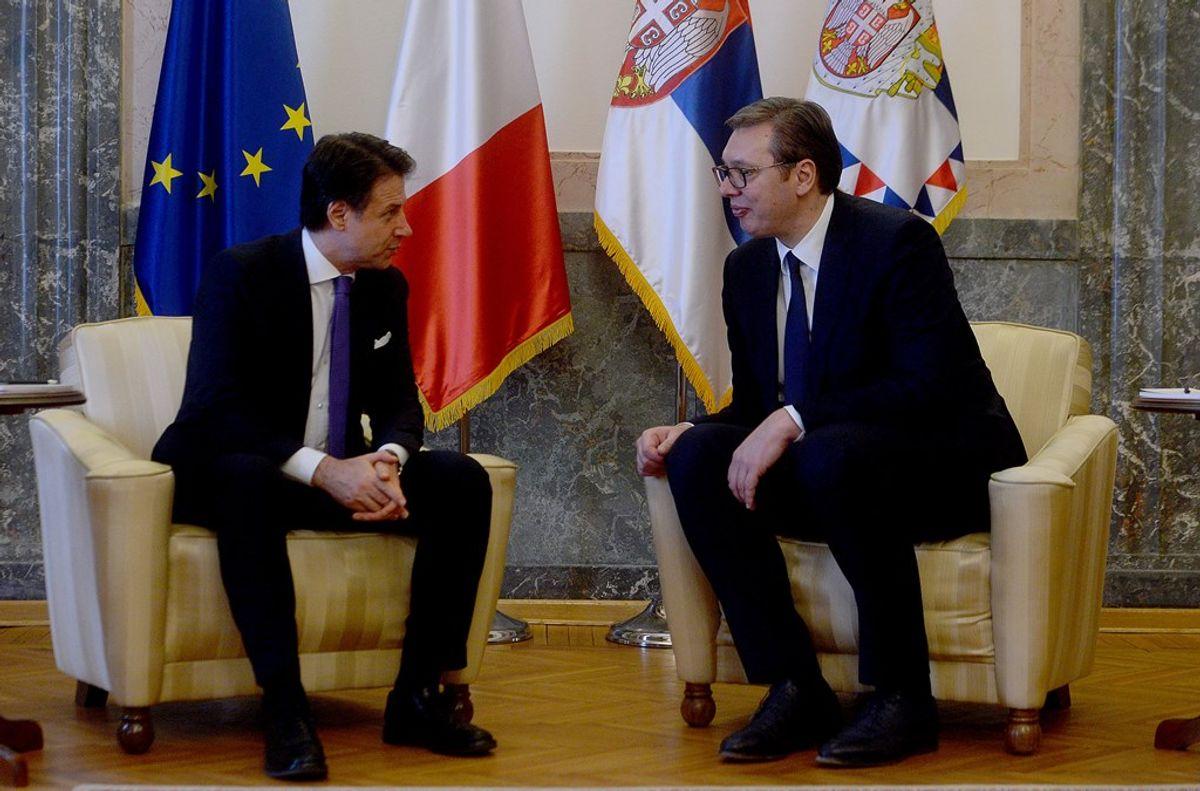 Sastanak sa predsednikom Saveta ministara Republike Italije