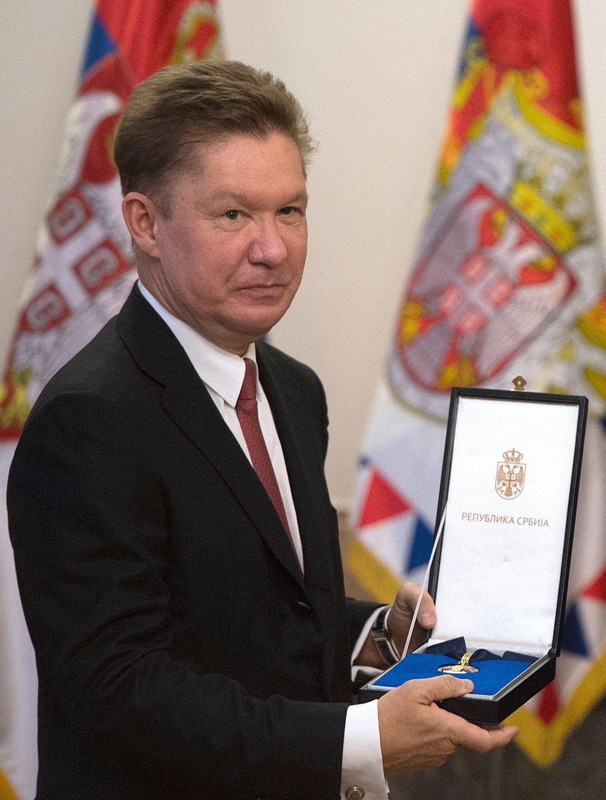 Председник Вучић уручио одликовање председнику Управног одбора компаније