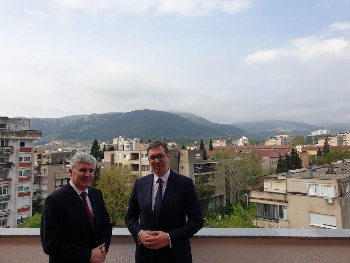 Председник Вучић у Мостару