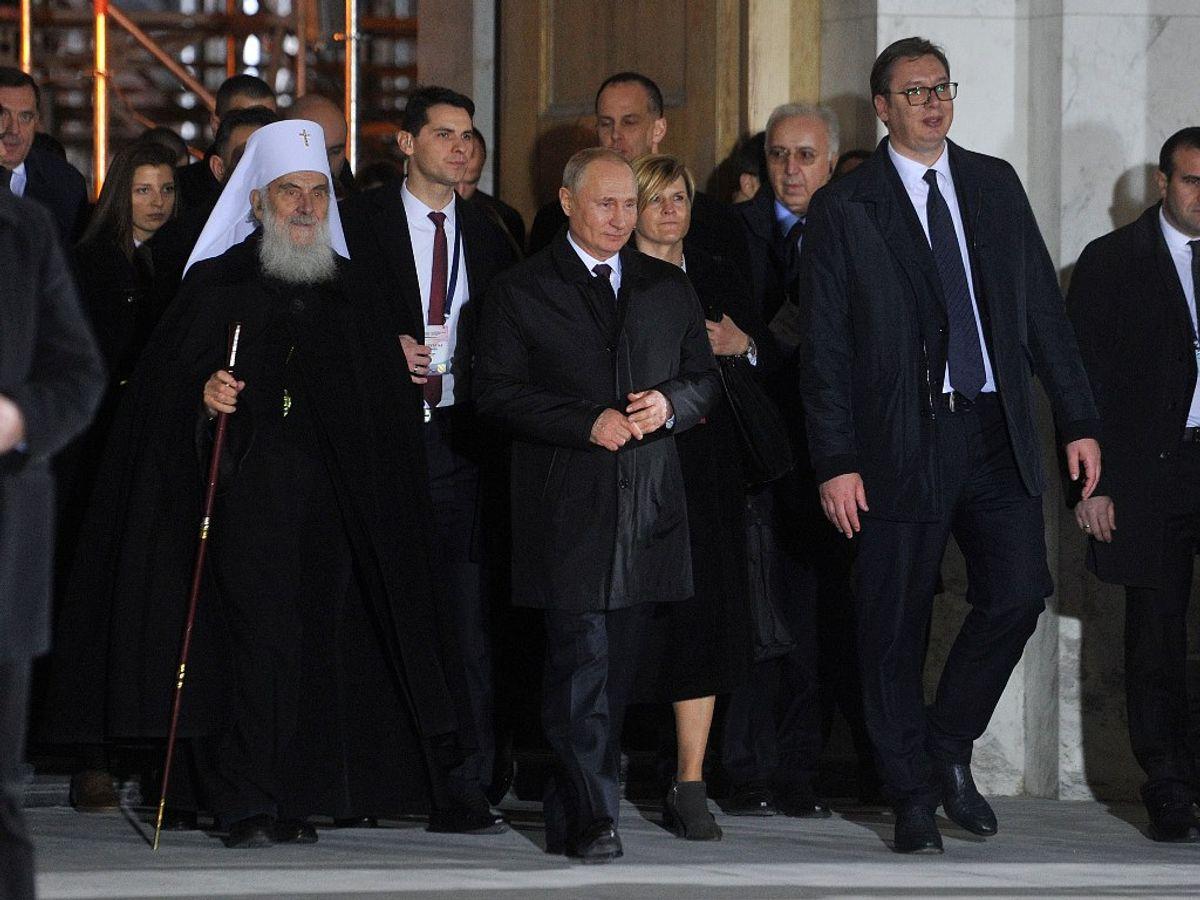 Zvanična poseta predsednika Ruske Federacije Vladimira Putina Republici Srbiji