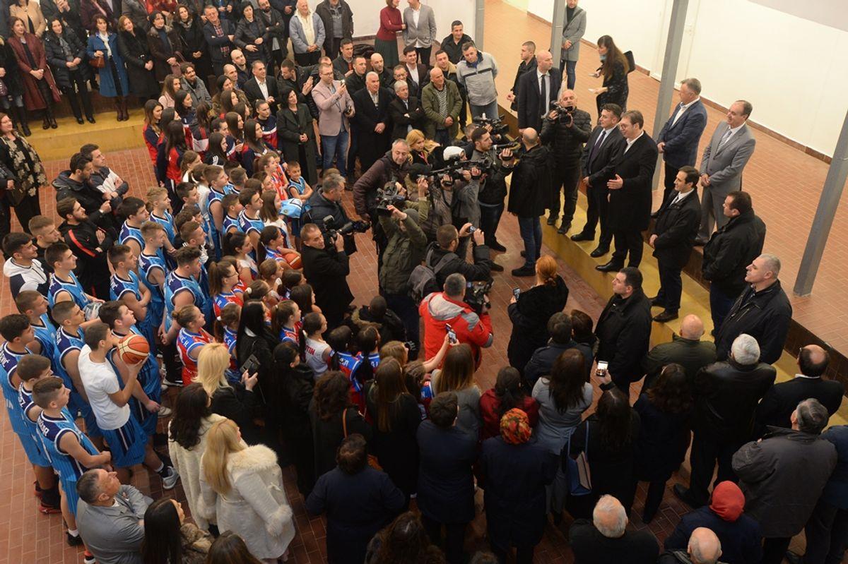 Predsednik Vučić obišao Raški okrug u okviru kampanje