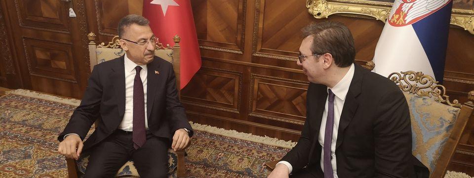 Састанак са потпредседником Републике Турске