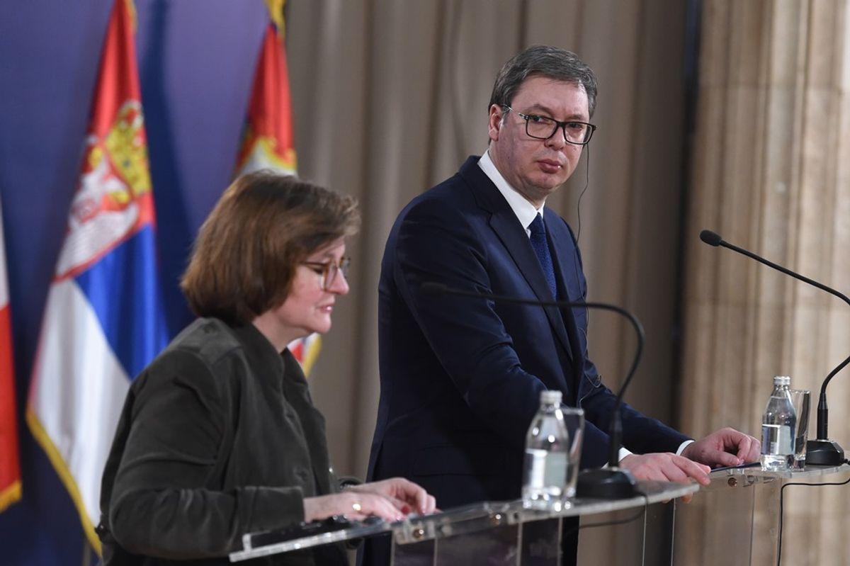 Sastanak sa ministarkom za evropske poslove Francuske Republike Natali Loazo