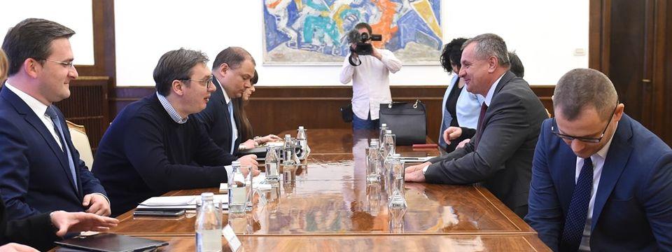 Састанак са председником Владе Републике Српске