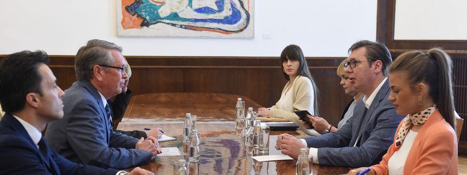 Састанак са амбасадором Руске Федерације 16.04.2019.