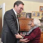 Председник Вучић обишао најстарију суграђанку