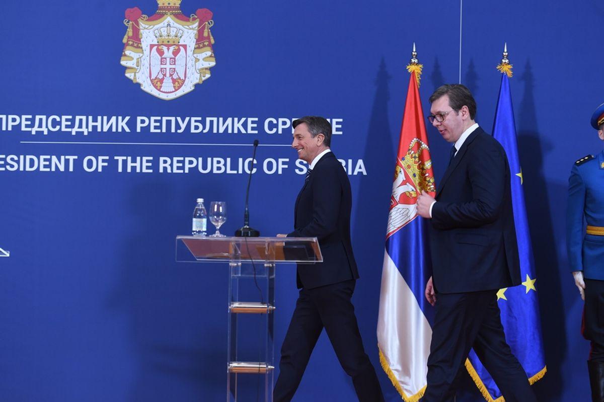 Sastanak sa predsednikom Republike Slovenije
