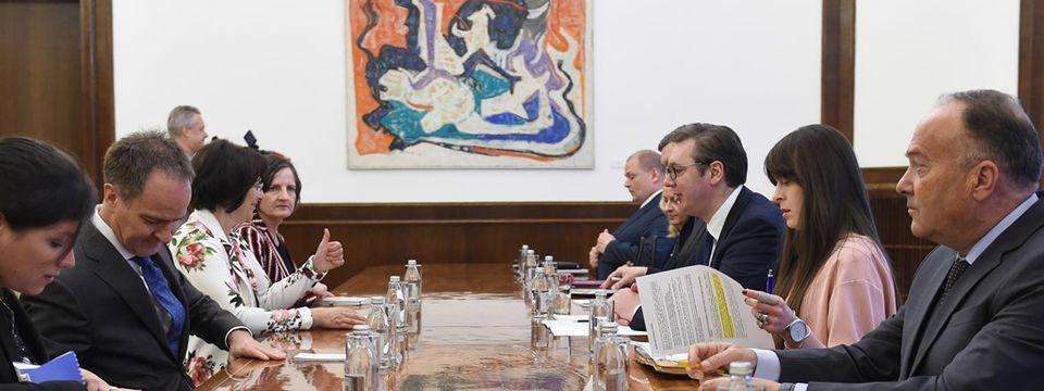 Састанак са шефом Одељења за истраживање образовних система Швајцарског економског института