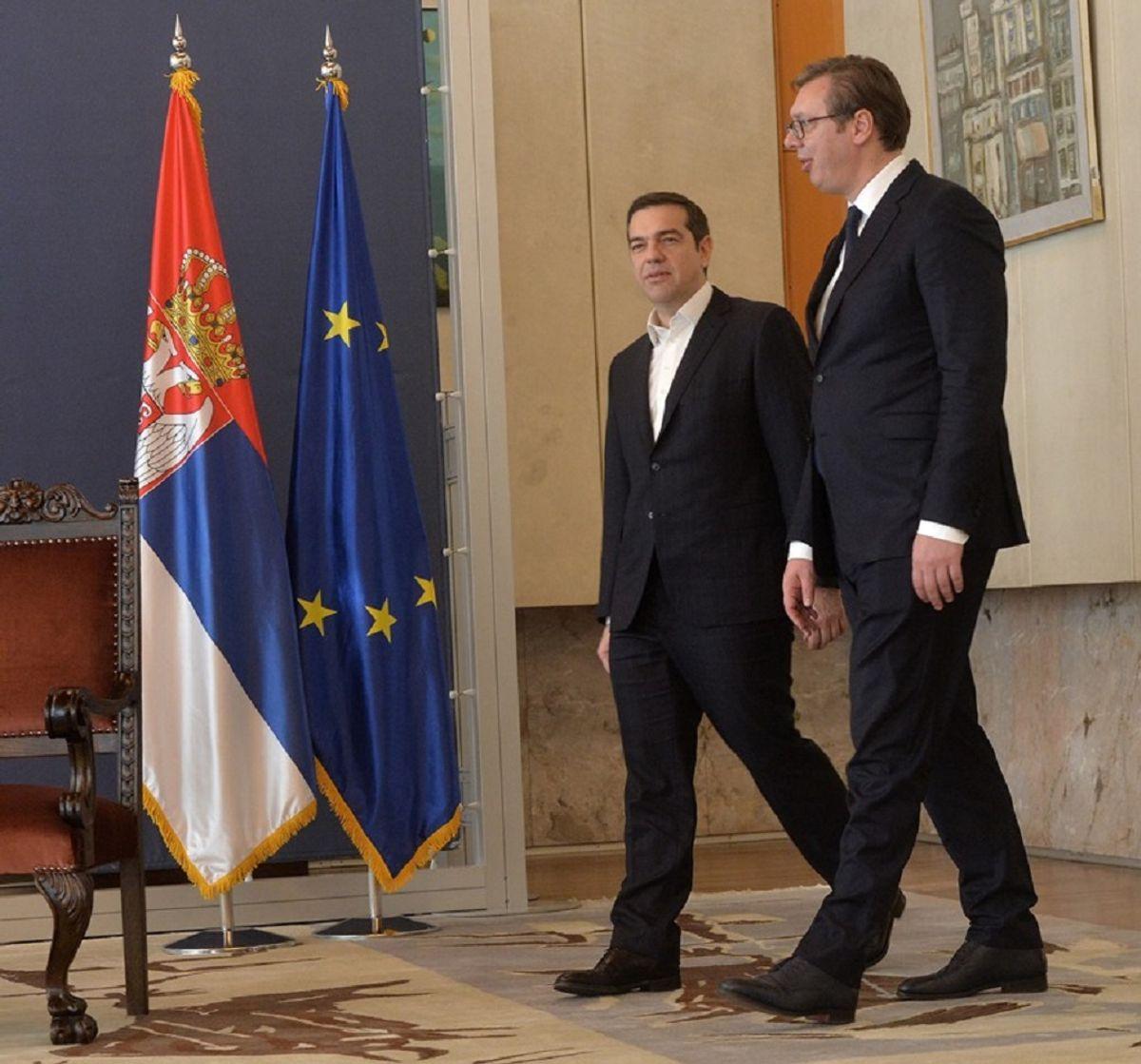 Састанак са председником Владе Републике Грчке