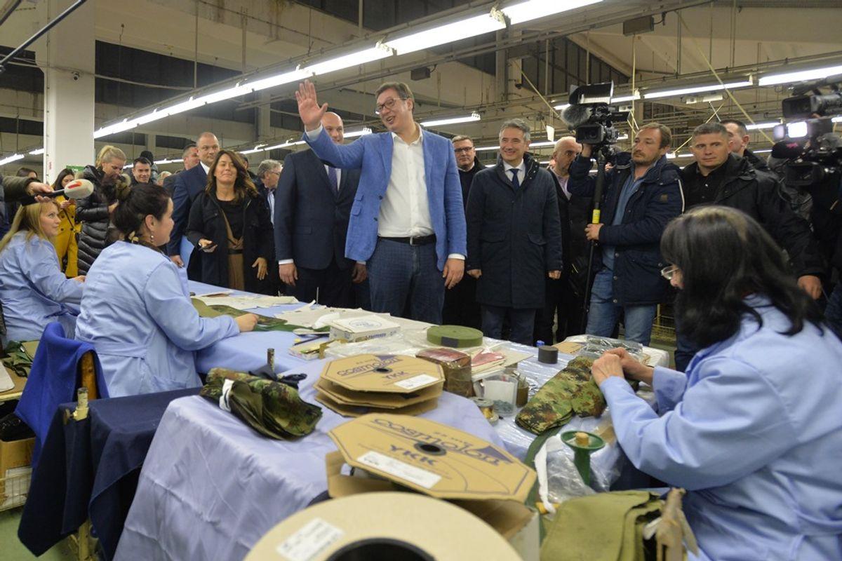 Predsednik Vučić obišao Pčinjski okrug u okviru kampanje