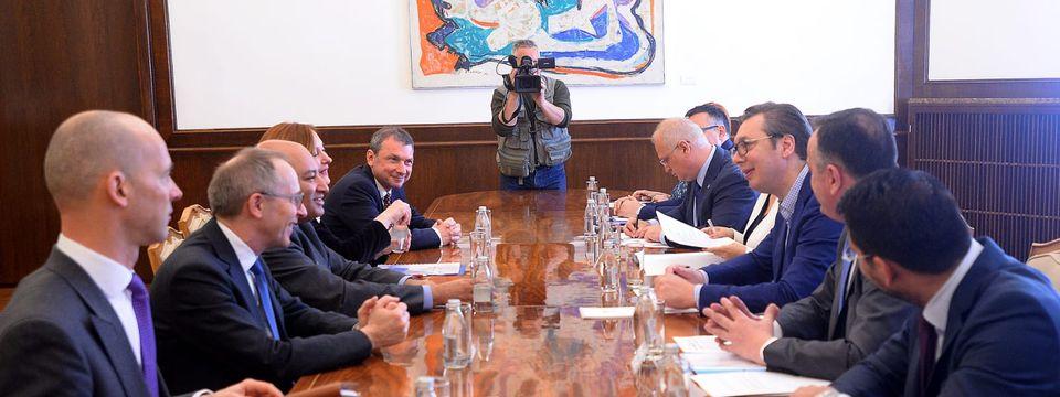 Састанак са председником ЕБРД Сумом Чакрабартијем