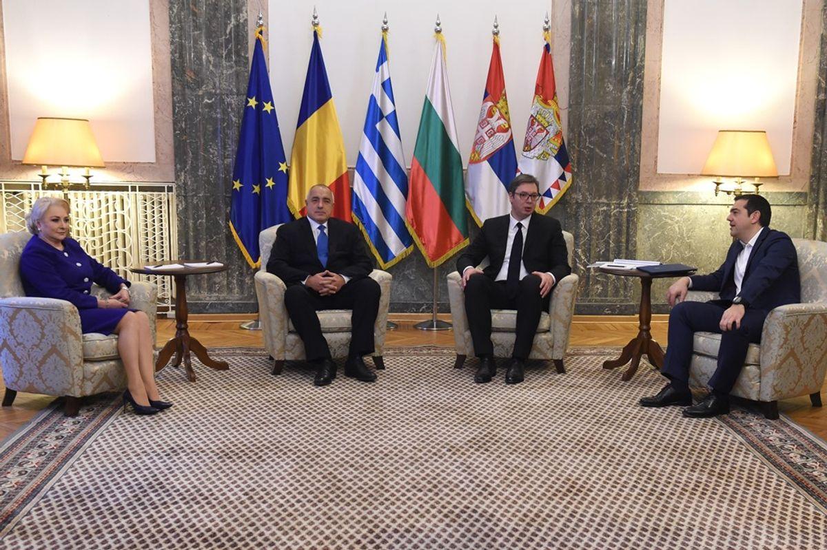 Састанак представника Високог савета за сарадњу Републике Србије, Републике Бугарске, Републике Грчке и Румуније