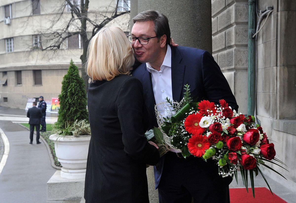 Sastanak sa predsednicom Republike Srpske