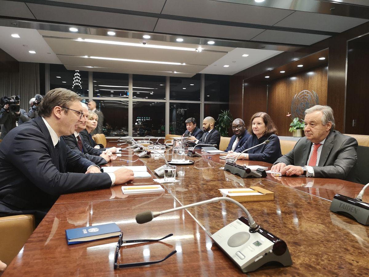 Састанак са генералним секретаром Уједињених нација