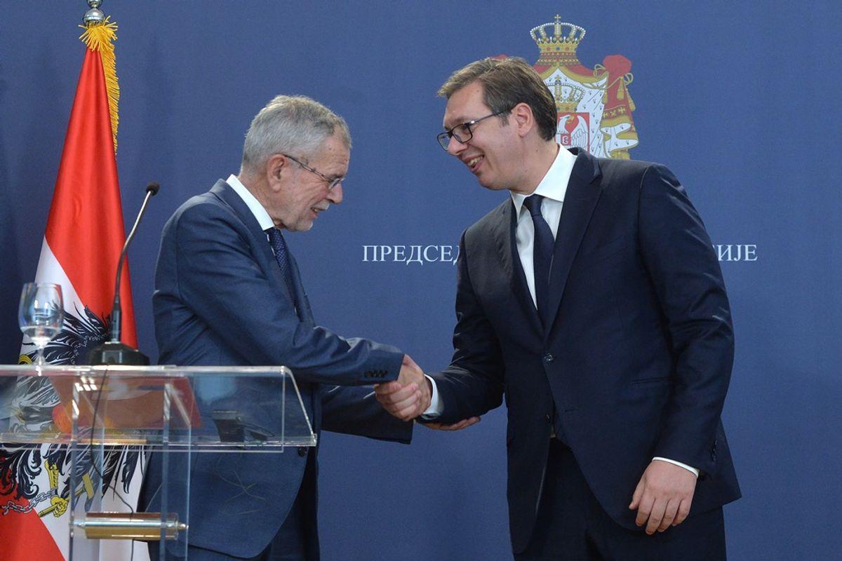 Sastanak sa predsednikom Savezne Republike Austrije