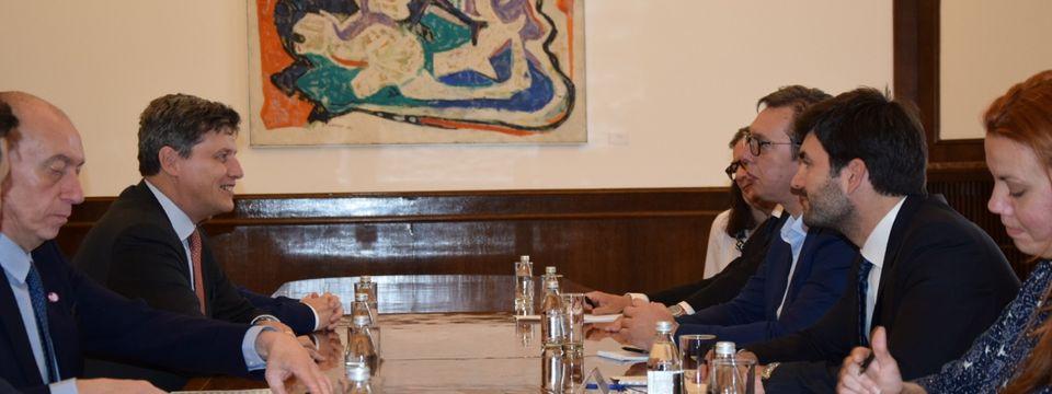 Sastanak sa delegacijom kompanije Bari Kalebo (Barry Callebaut)