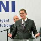 Predsednik Vučić na svečanosti povodom početka radova na izgradnji fabrike LEONI u Kraljevu