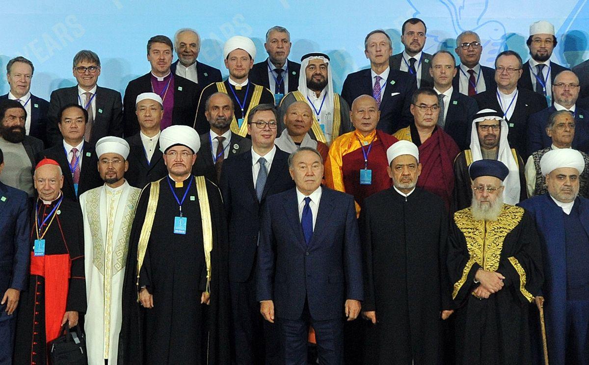 Председник Вучић на VI конгресу светских и верских лидера у Астани