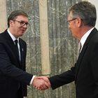 Predsednik Republike Srbije Aleksandar Vučić sastao se sa ambasadorom Ruske Federacije u Srbiji Aleksandrom Čepurinom