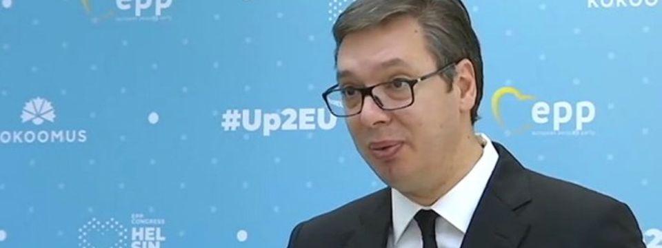 Председник Вучић на Самиту шефова држава и влада из редова Европске народне партије
