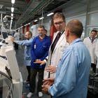 Predsednik Vučić na svečanom otvaranju fabrike IMI