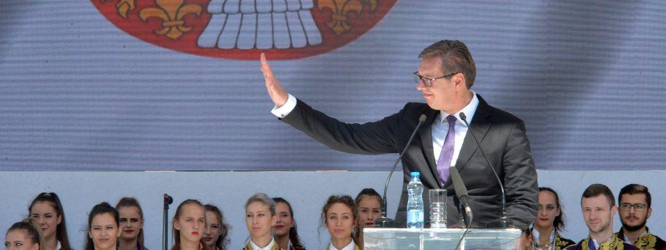 Govor Predsednika Republike Srbije u Kosovskoj Mitrovici 09.09.2018.