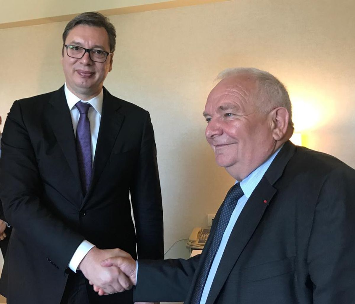 Састанак са председником Европске народне партије (ЕПП)