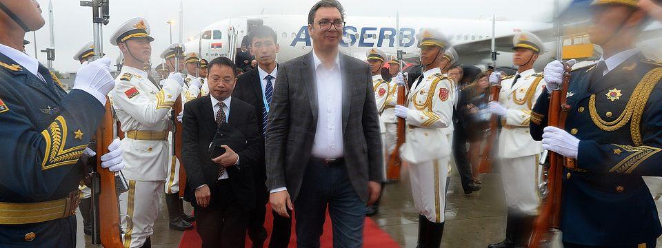 Председник Вучић у НР Кини